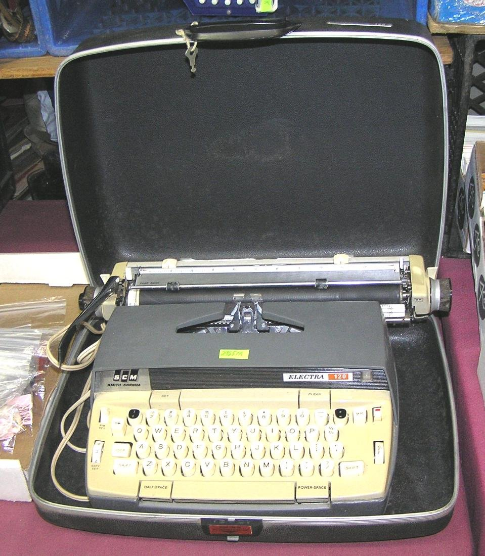 Vintage Smith Corona Electra 120 electric typewriter