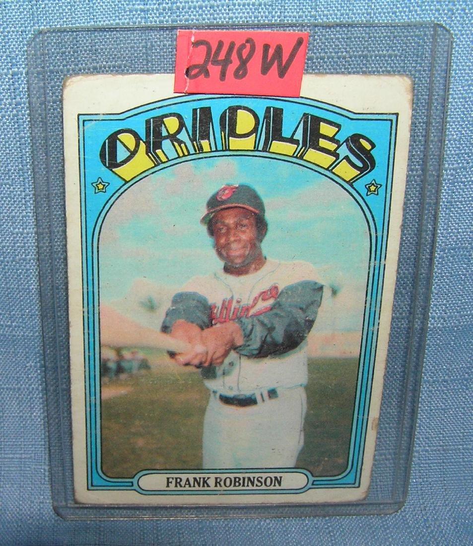 Frank Robinson all star baseball card
