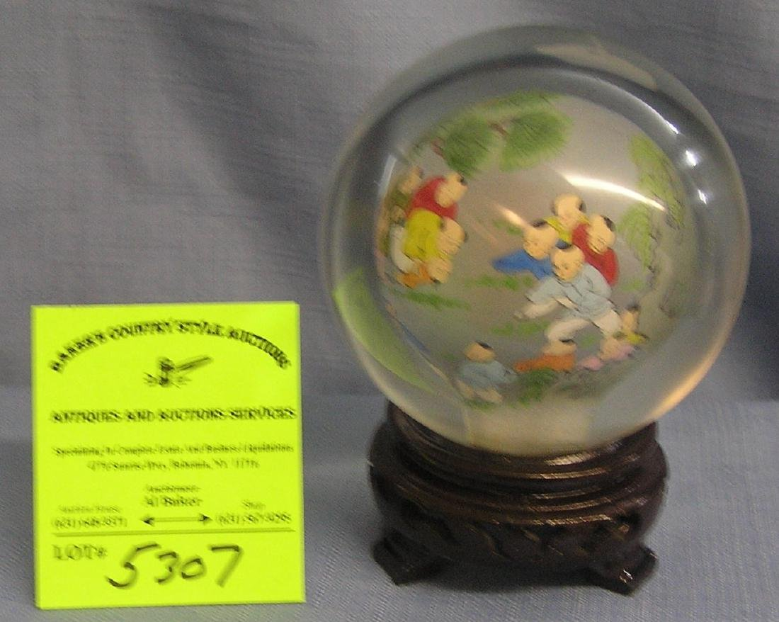Antique high quality oriental themed paper weight