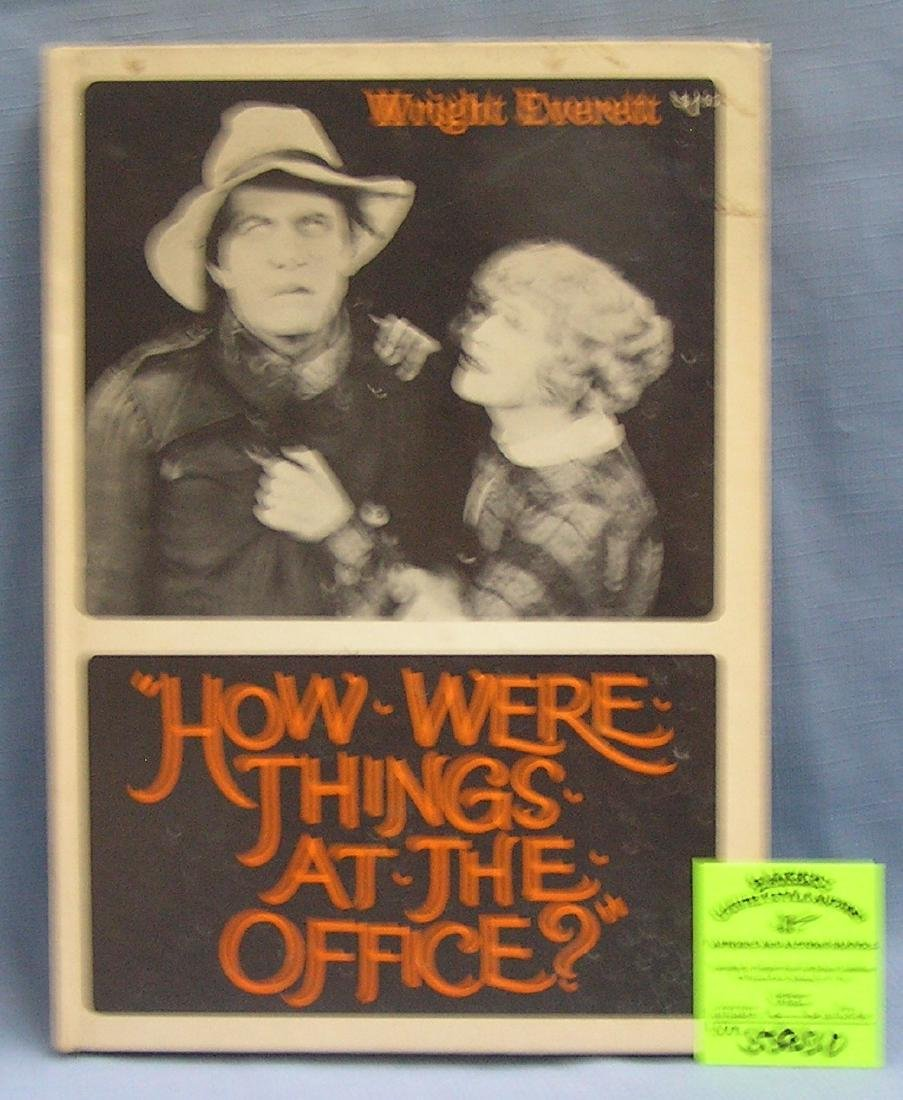 Vintage Wright Everret book