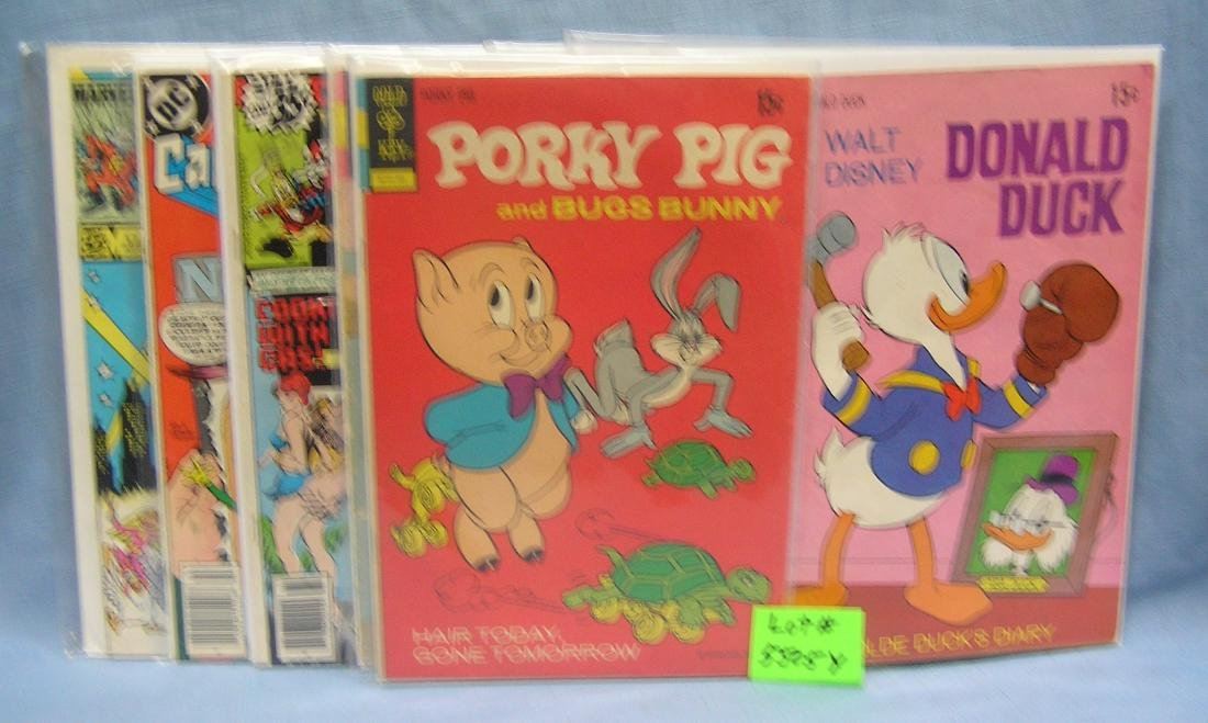 Group of early comic related comic books
