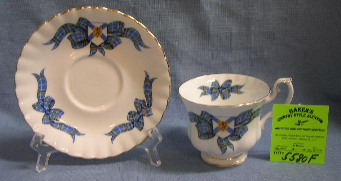 Early English Royal Albert cup and saucer set