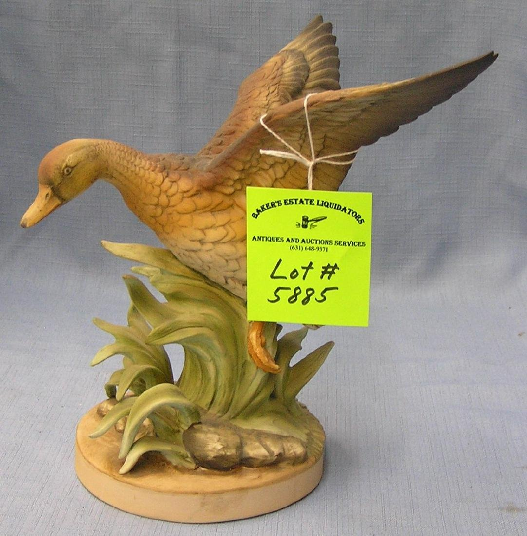 Vintage mallard duck figurine by Andrea