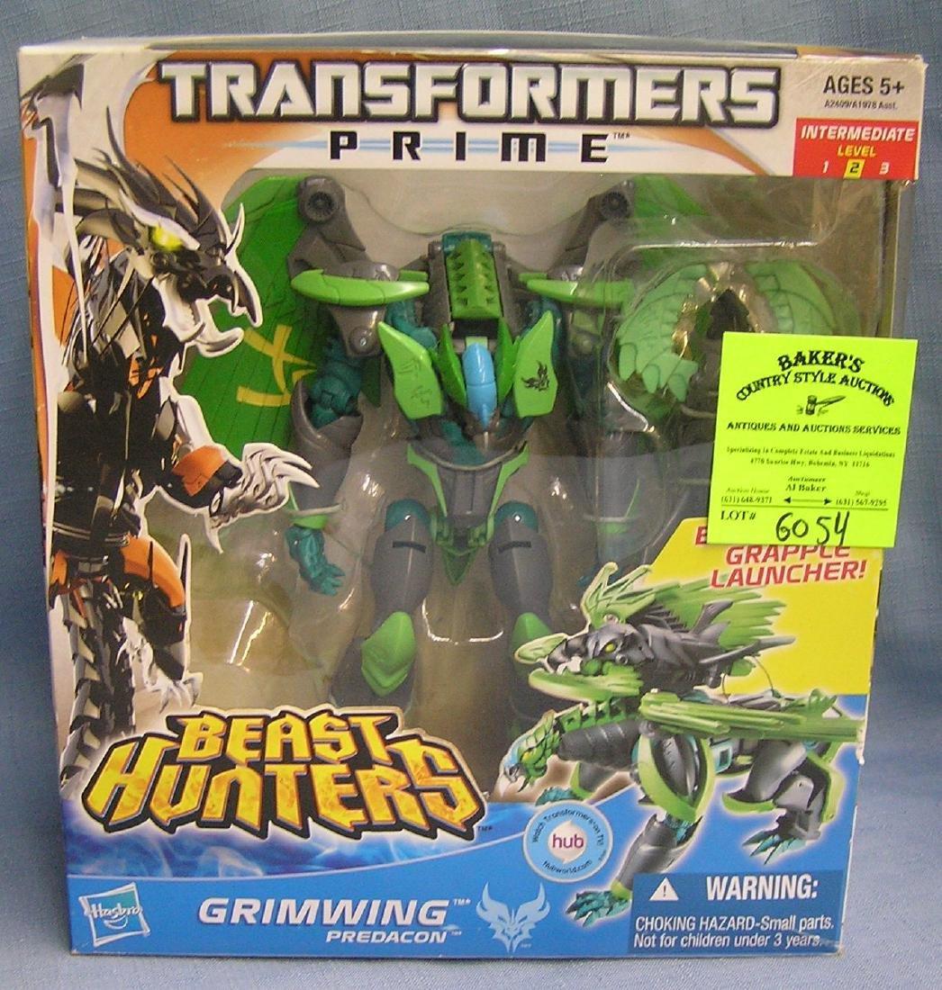 Transformers beast hunters action figure