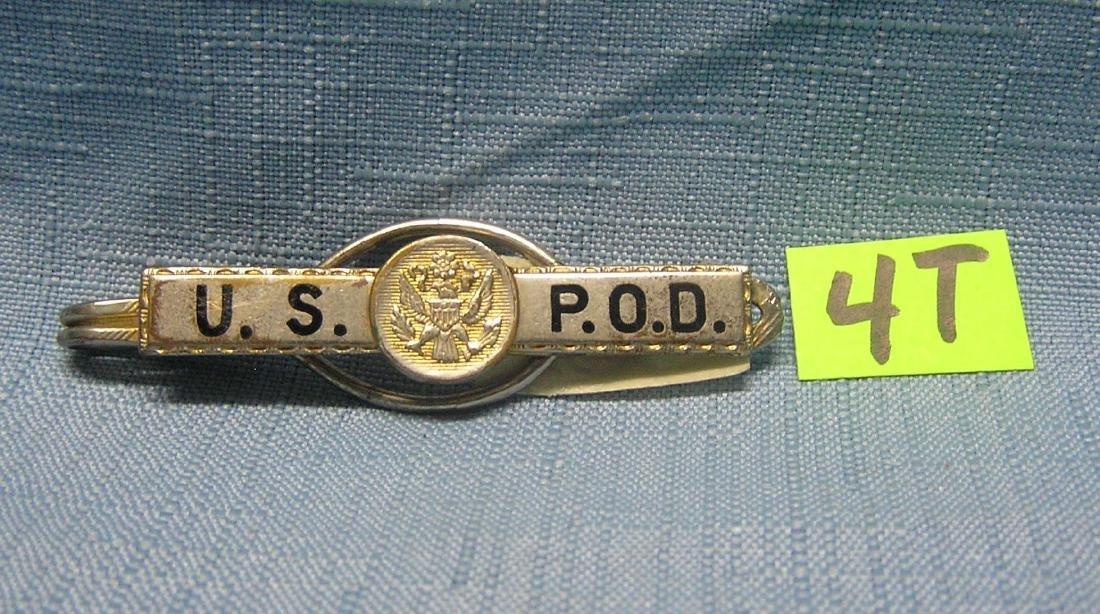 Vintage police officer's tie clip