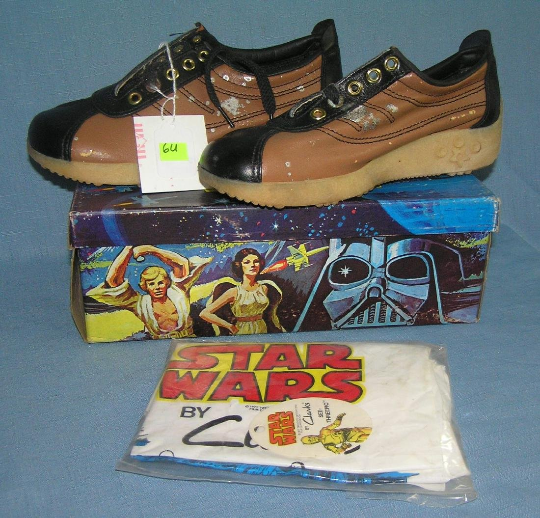 Extremely rare Star Wars sneakers dated 1977
