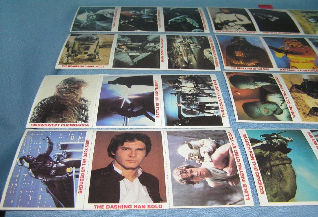 Star Wars card set - 2