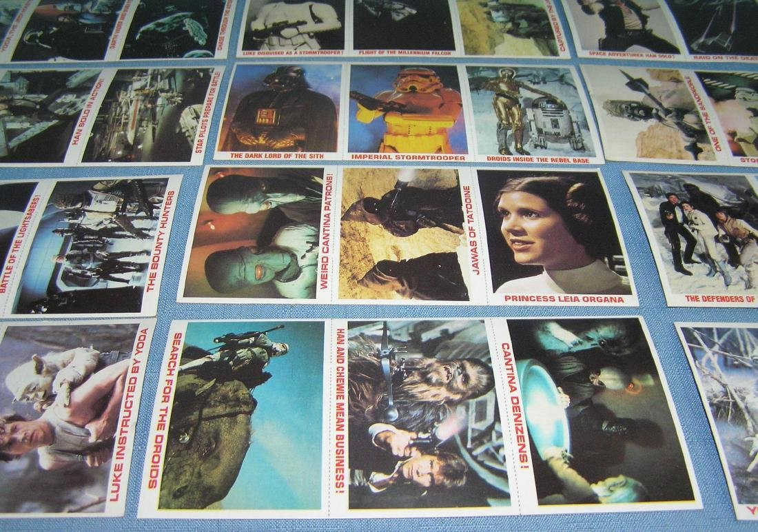 Star Wars card set - 4