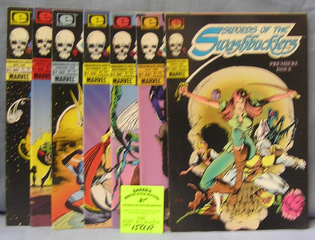 Wars of the Swashbucklers comic books