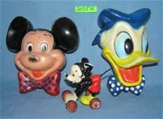 Group of 3 great vintage Walt Disney pieces