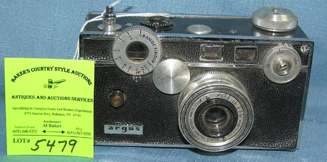 Early Argus 35MM camera