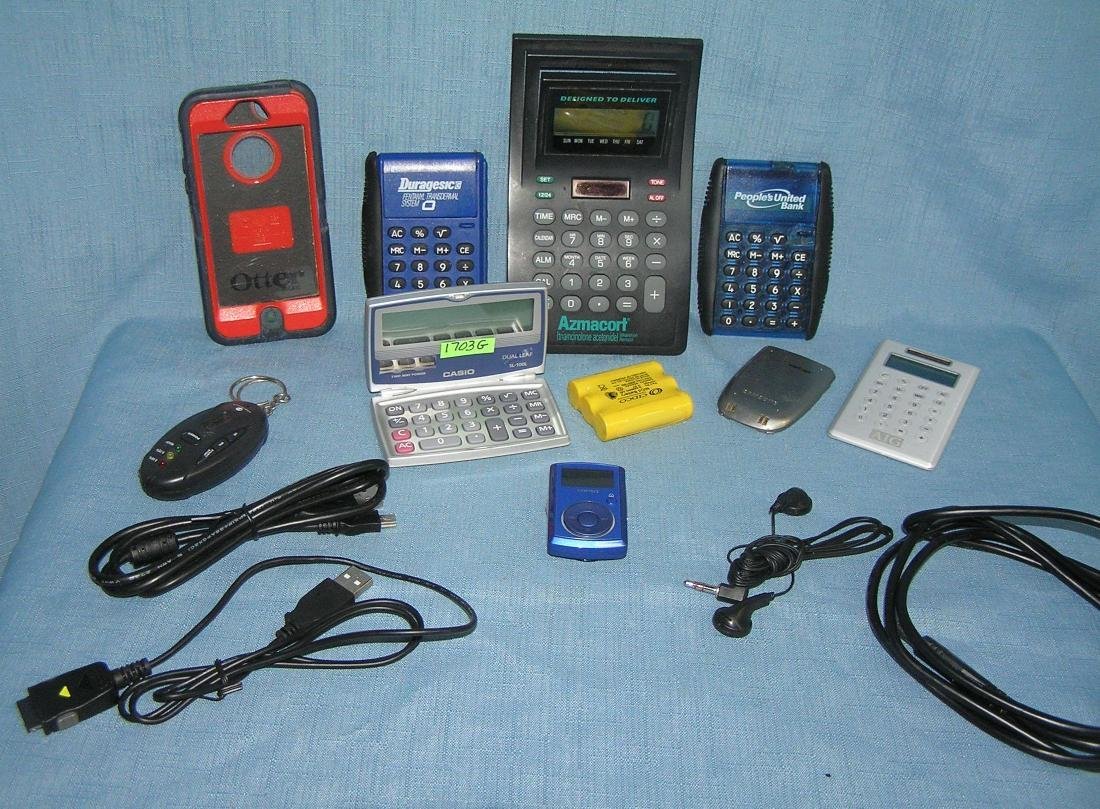 Group of electronic devices and accessories