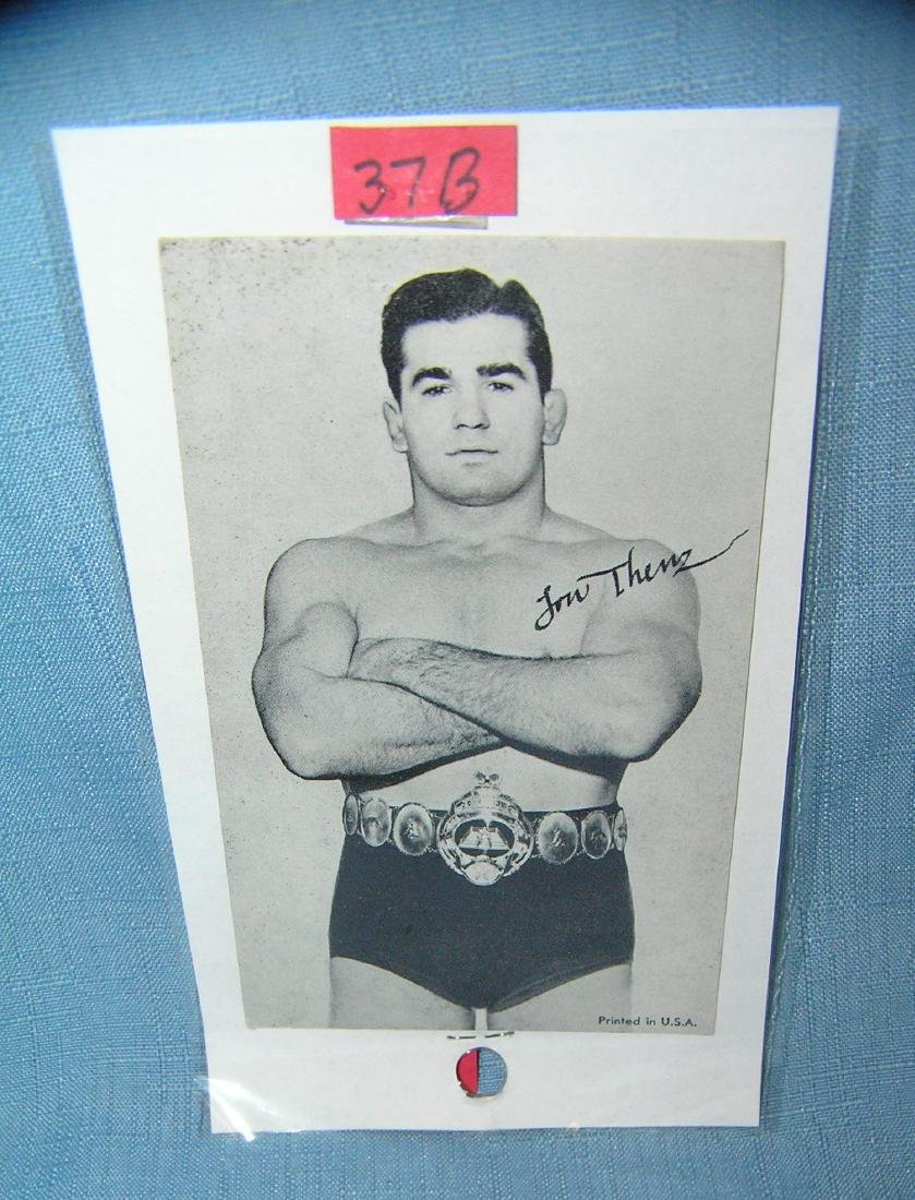 Lou Thesz penny arcade sports card