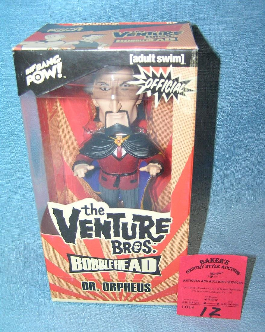 Dr. Orpheus from the Venture Bros. bobble head doll