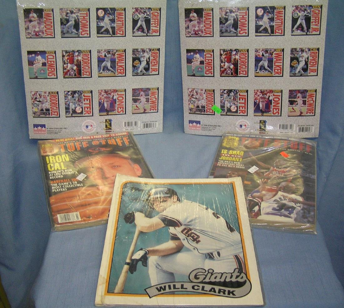 Group of sports collectibles - 2