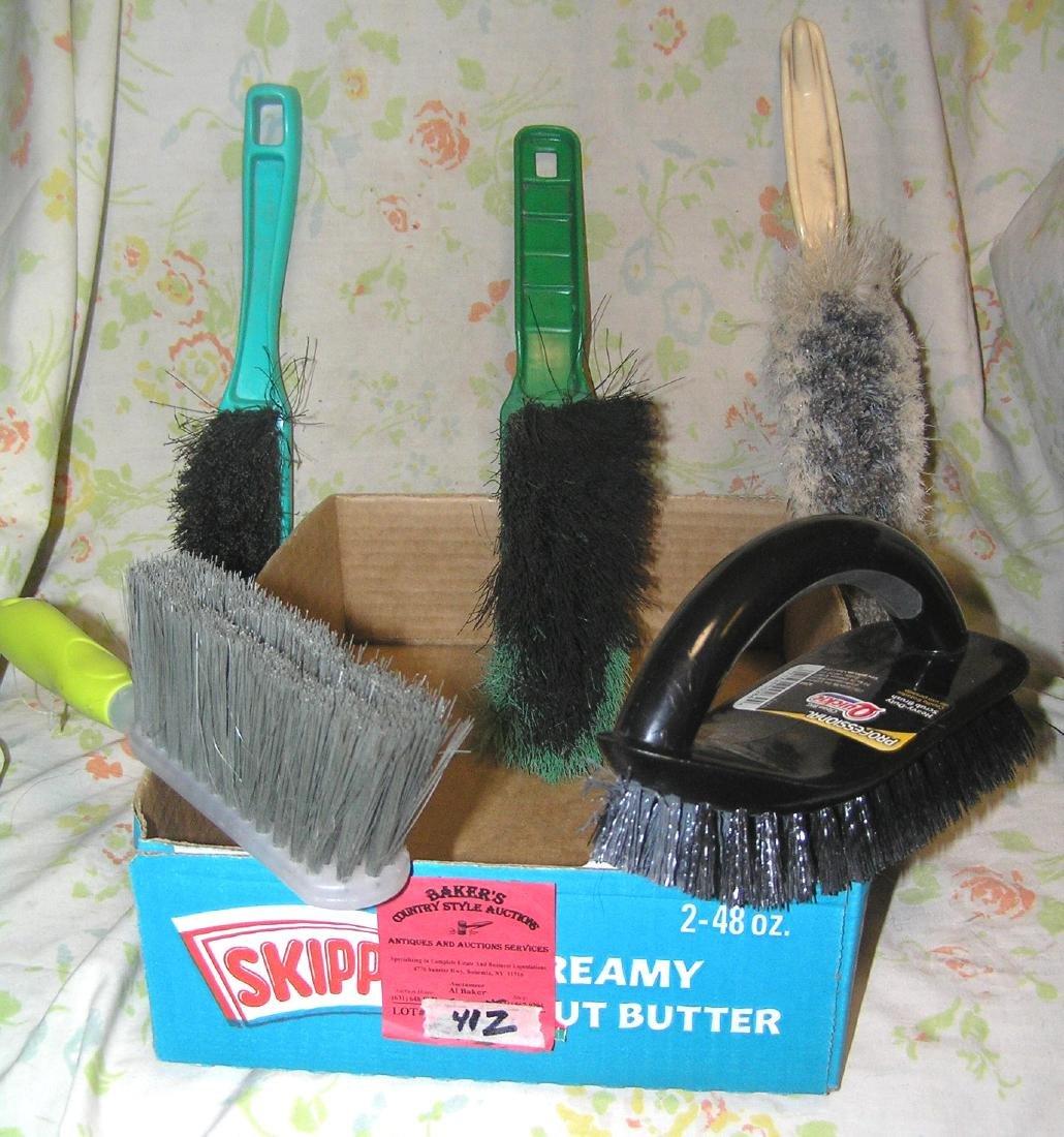 Box full of quality brushes