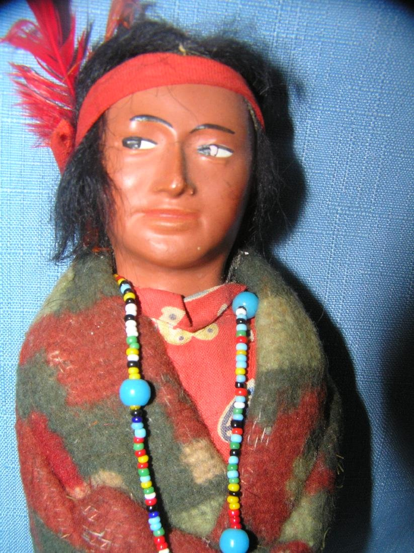 Native American Indian Skookum male doll - 2