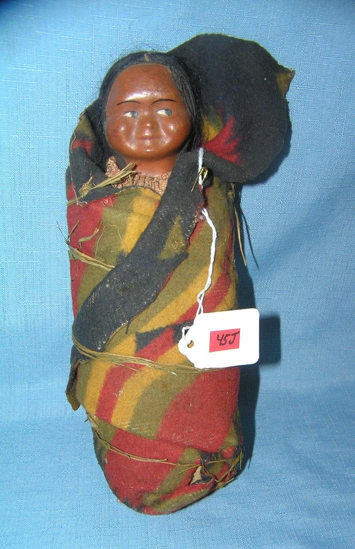 Native American Indian Skookum baby doll