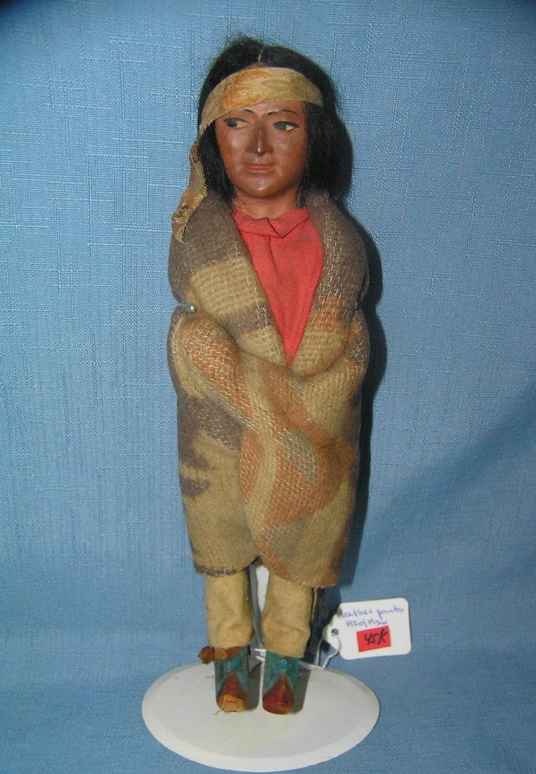 Native American Indian Skookum doll with head band