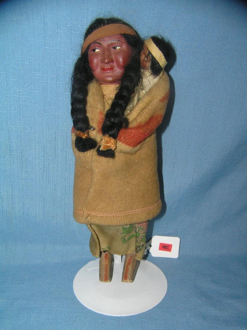 Native American Indian Skookum squaw