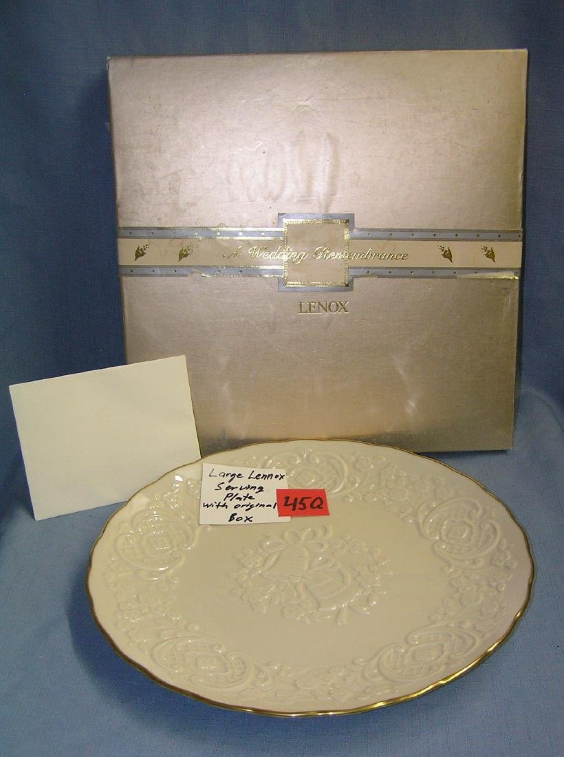 Large Lenox serving plate with original box