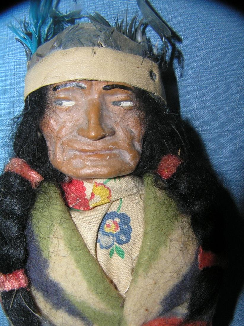 Native American Indian chief Skookum doll - 2