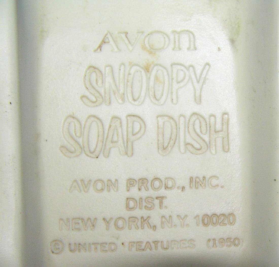 Snoopy figural soap dish by Avon - 3