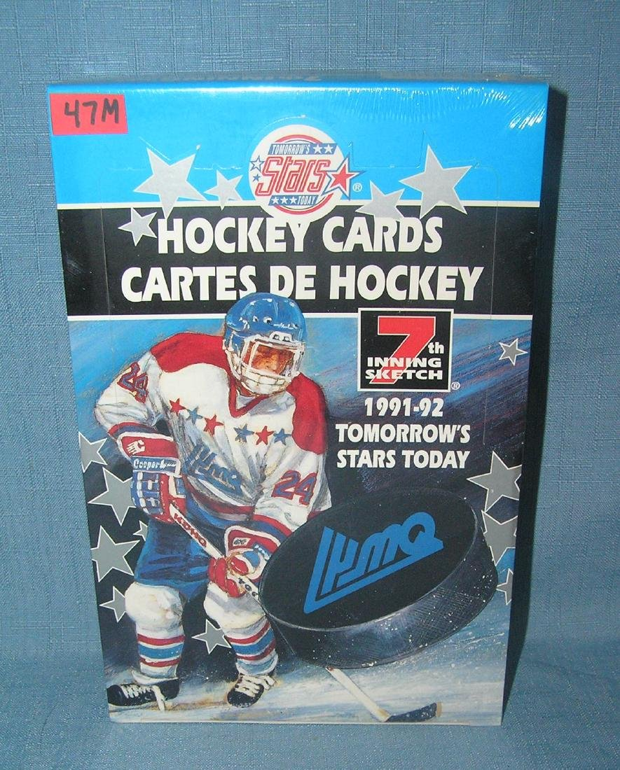 1991 tomorrow's stars hockey cards factory sealed box