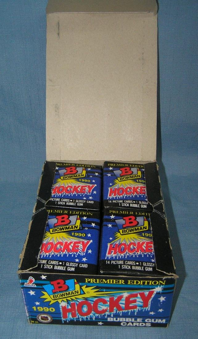 20 boxes of 1990 Bowman premier hockey cards - 2