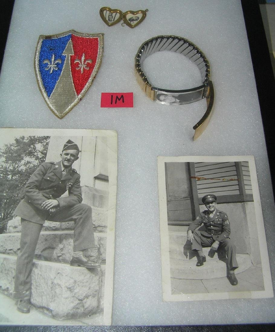 Group of military collectibles