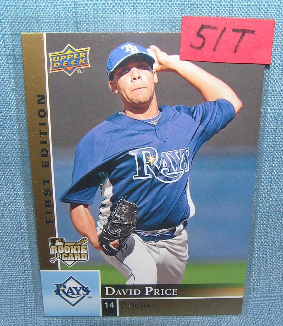 David Price rookie baseball card