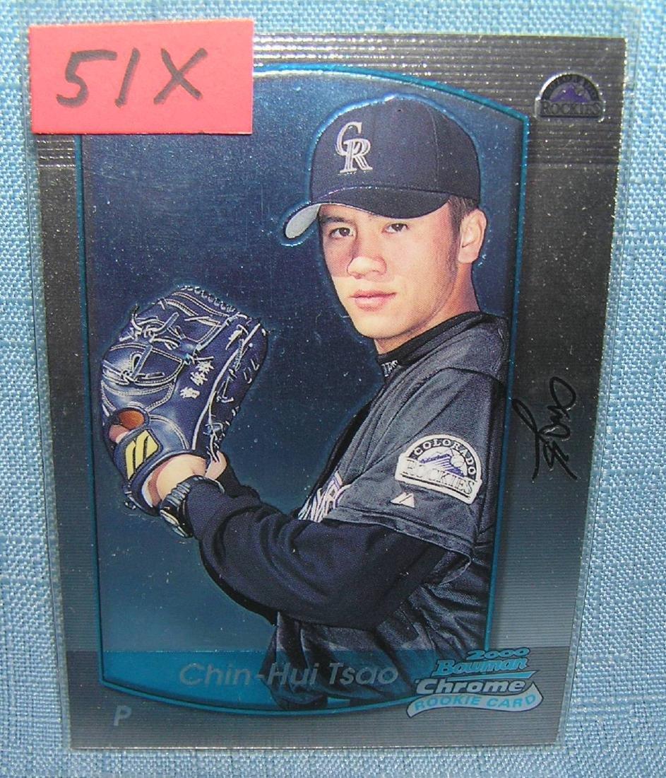 Chin-Hui Tsao rookie baseball card