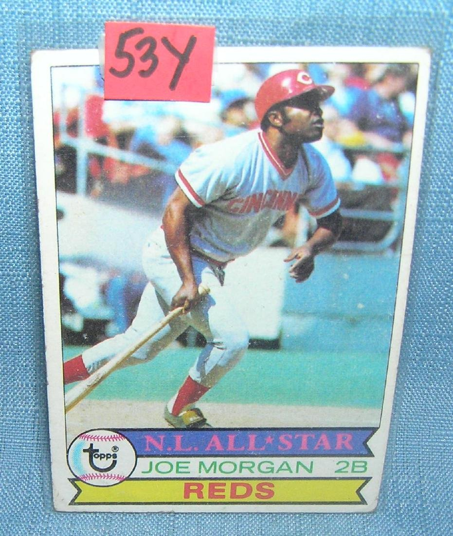 Vintage Joe Morgan all star baseball card by Topps