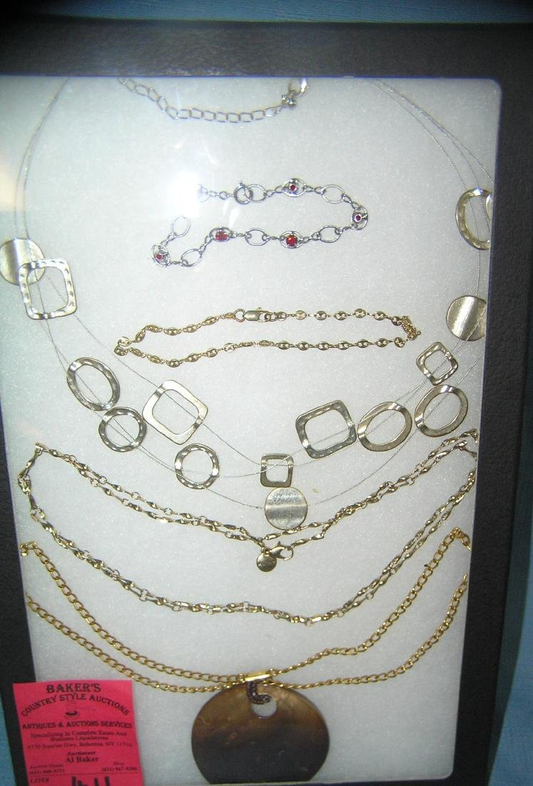 Collection of quality costume jewelry necklaces and
