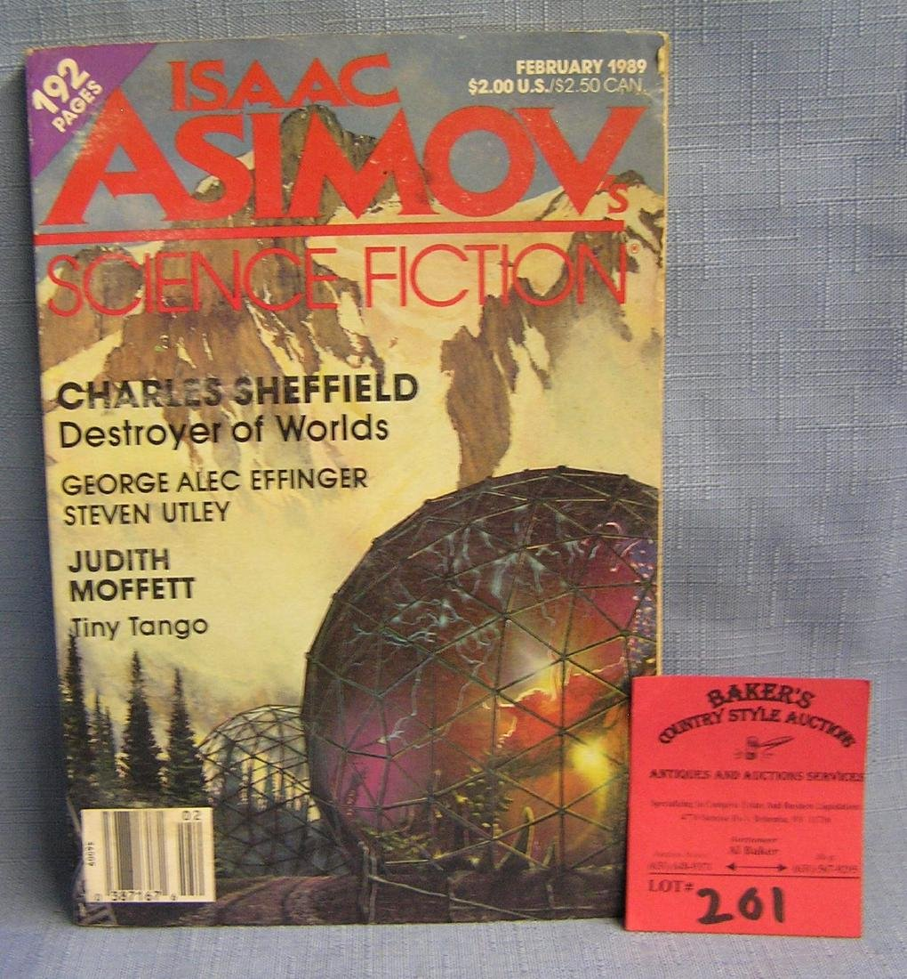Vintage science fiction book
