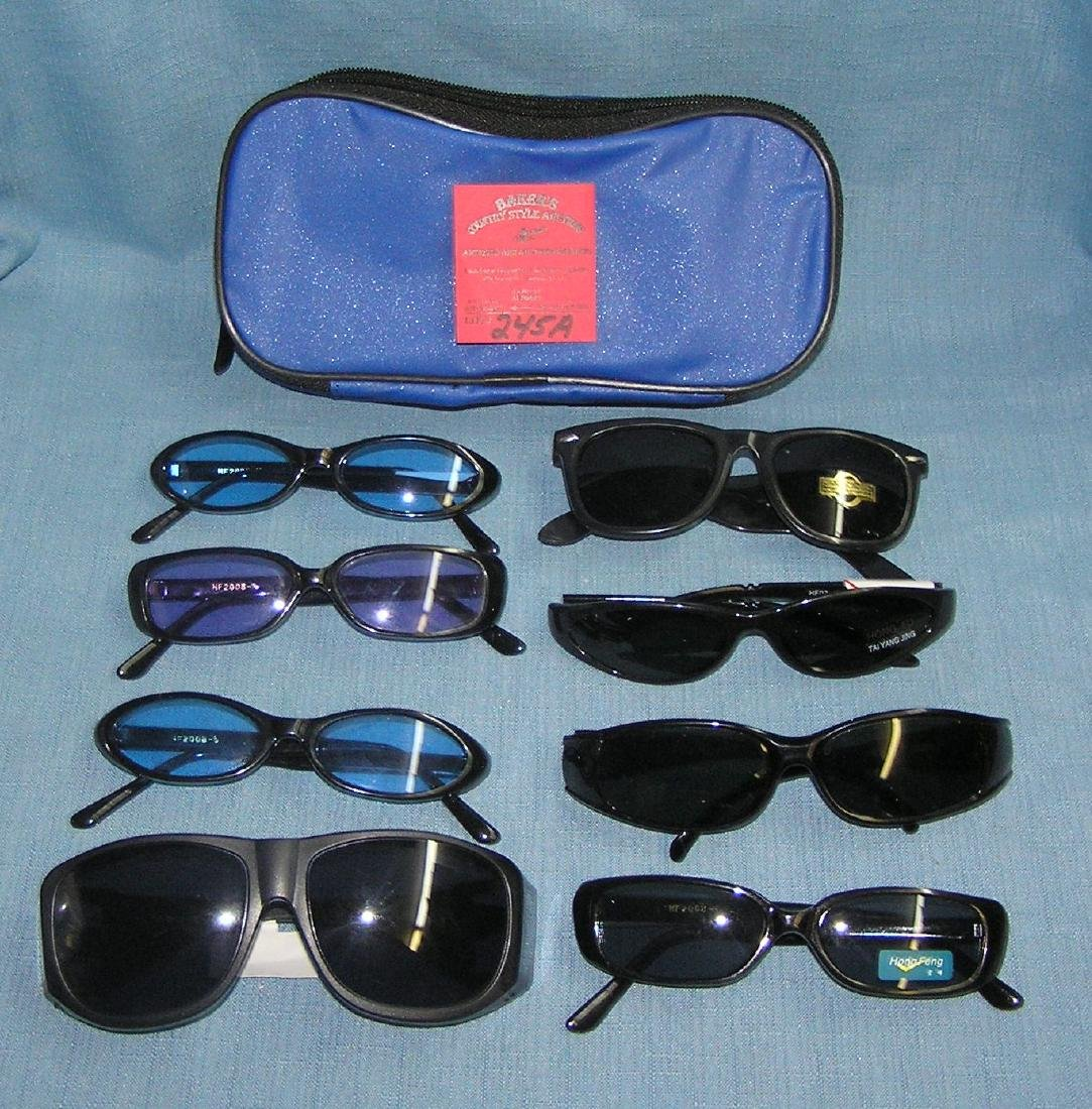 Large group of new sunglasses