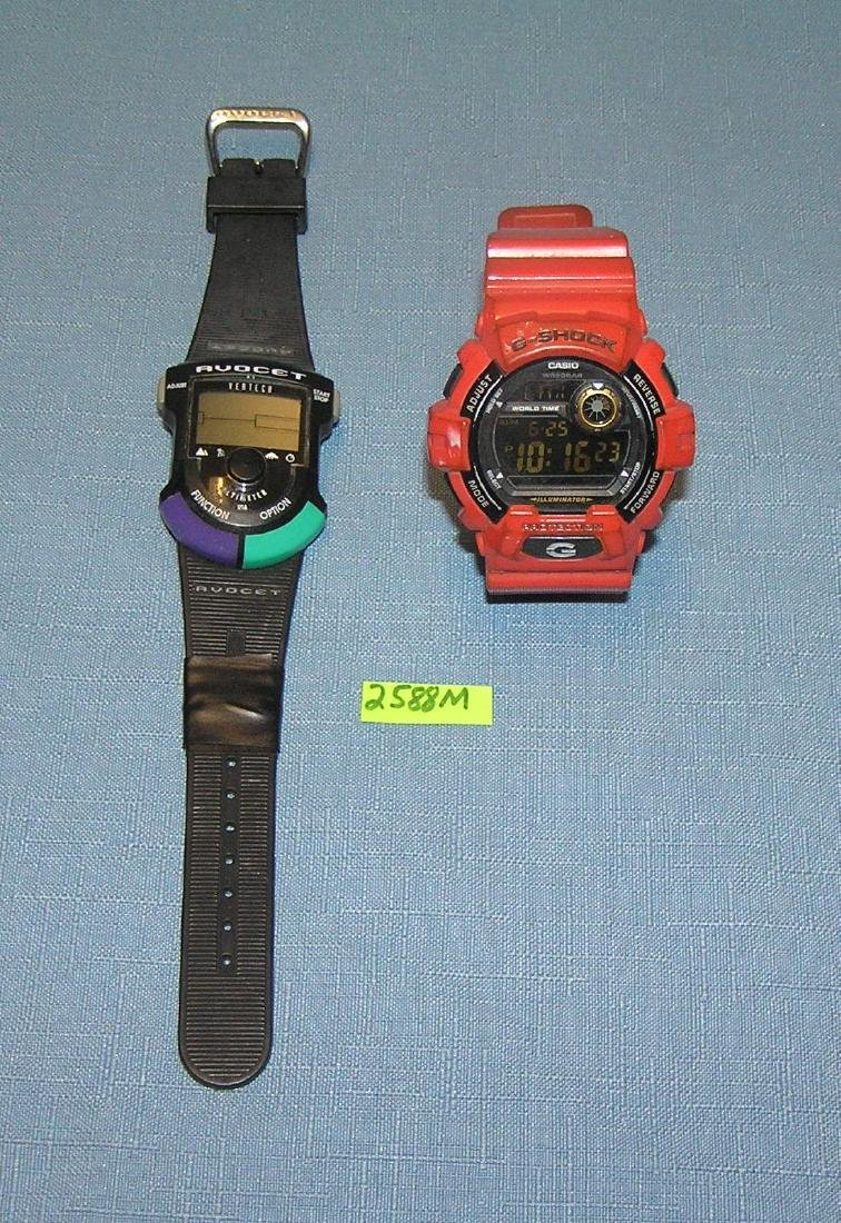Pair of modern quality watches