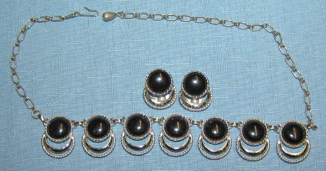 Large group of vintage costume jewelry - 4