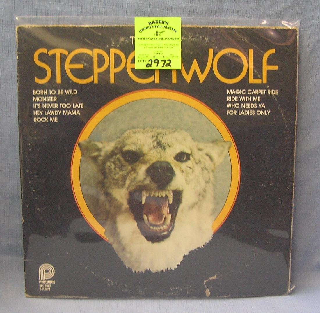 Vintage Best of Steppenwolf record album