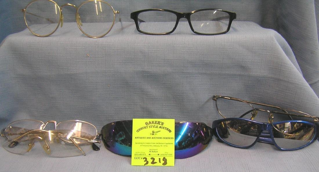 Group of vintage eye ware