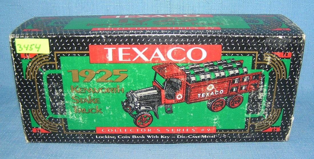 Texaco 1925 style delivery truck bank