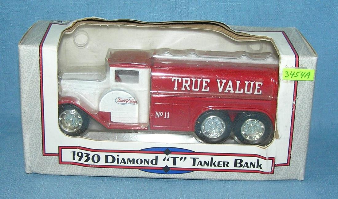 Tru Value 1930 style delivery truck bank