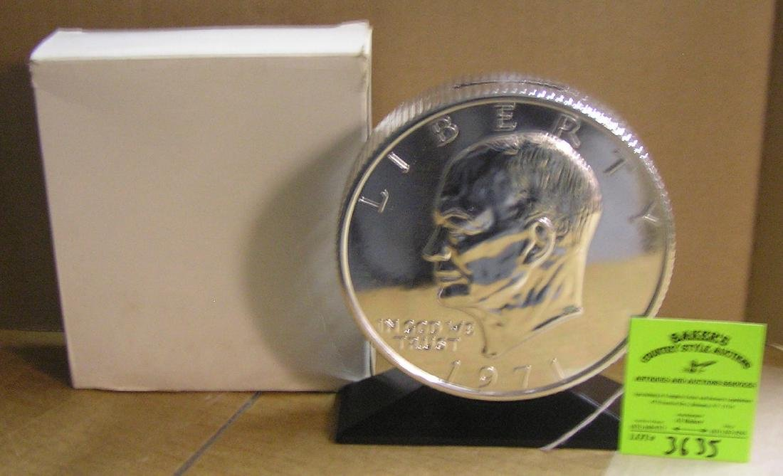 Eisenhower Bicentennial dollar coin bank