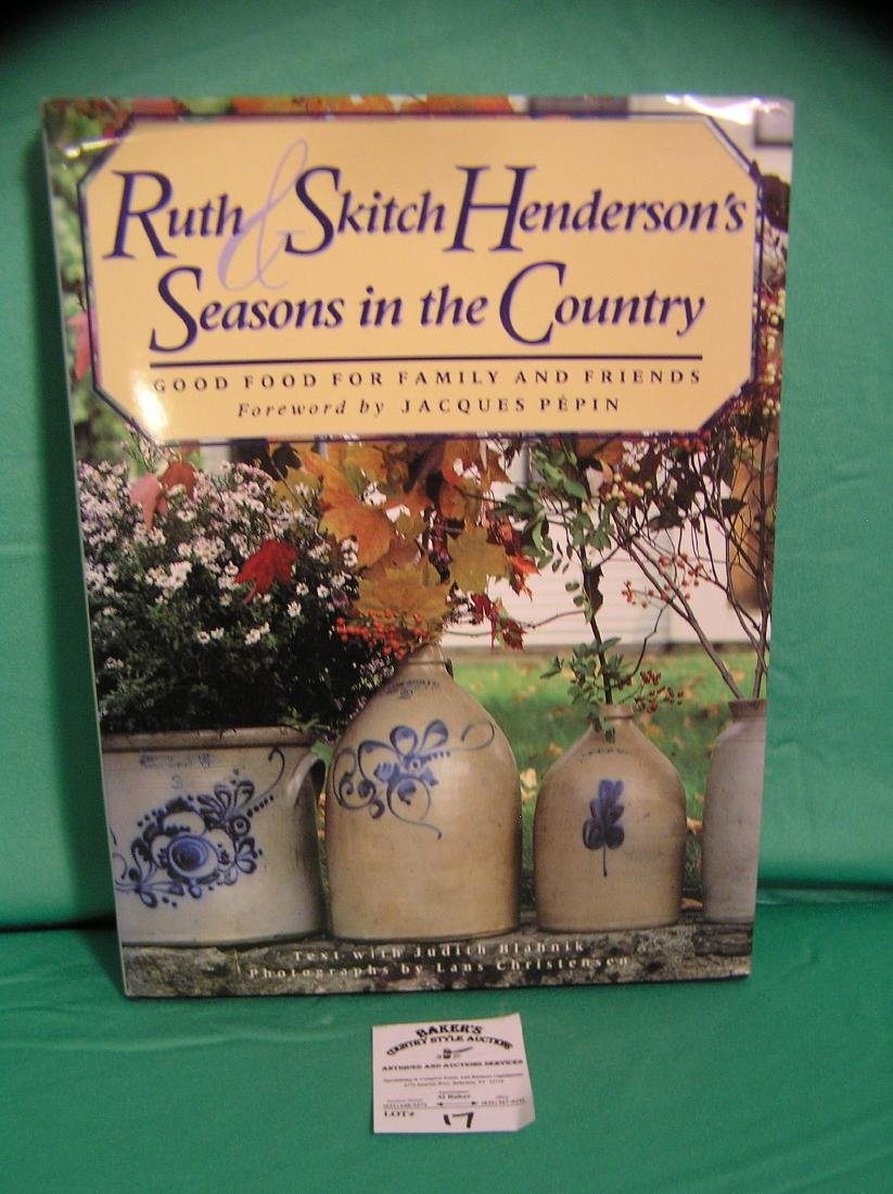 Art pottery and country book