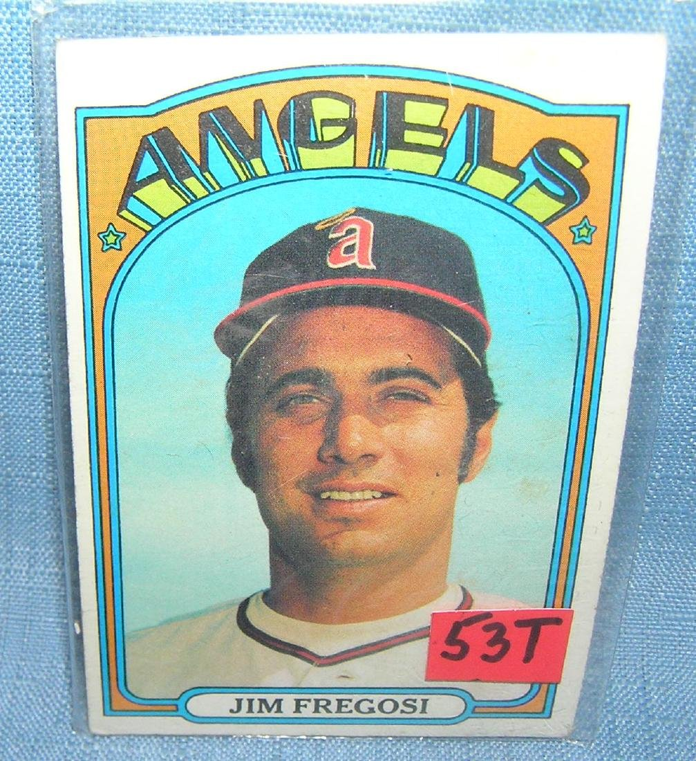 Vintage Jim Fregosi Topps baseball card