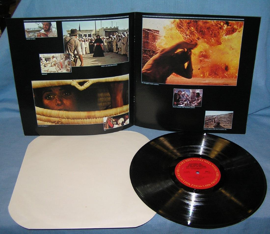 Indiana Jones action movie record album - 4