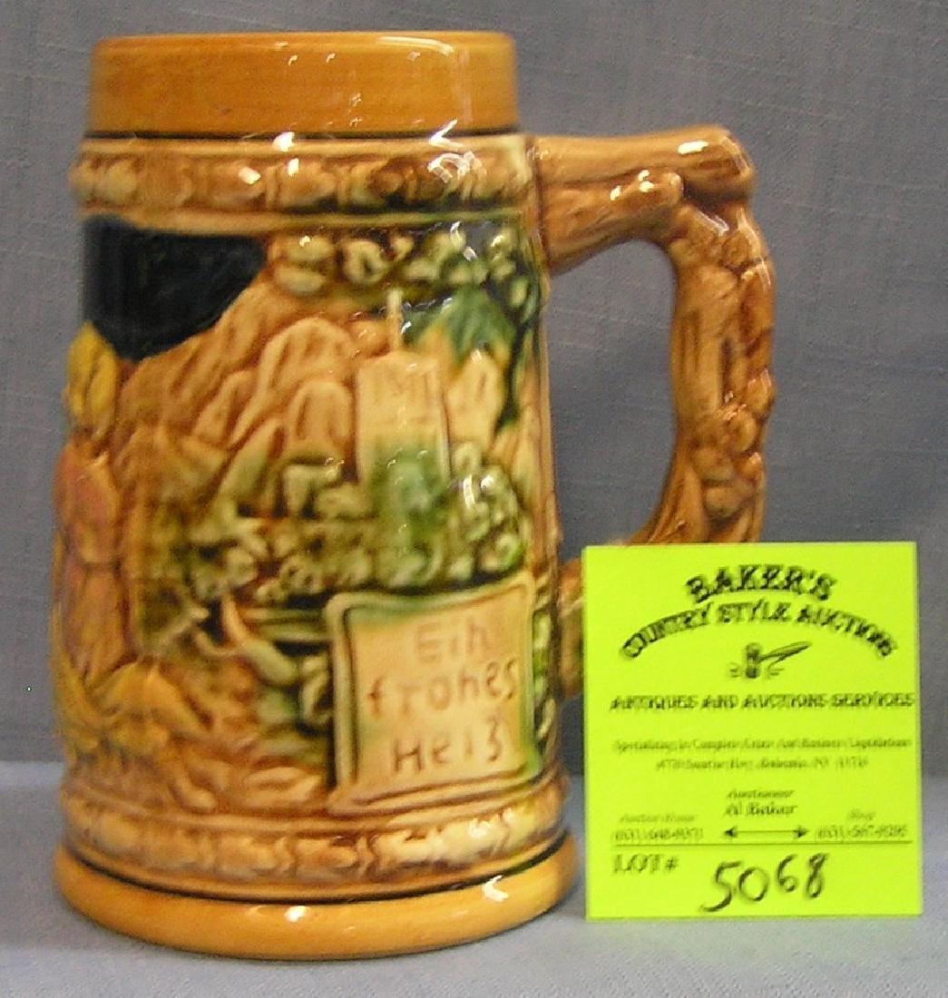 Vintage porcelain beer stein