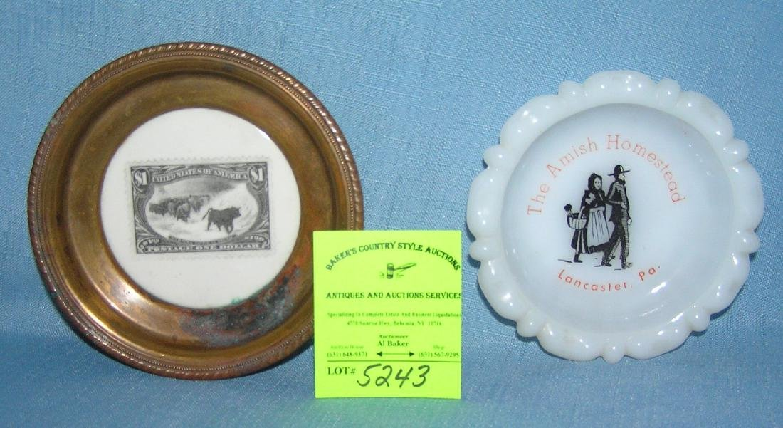 Group of souvenir dishes