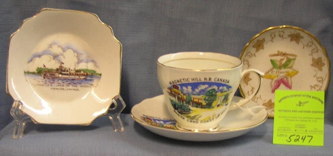 Group of vintage Canadian souvenirs