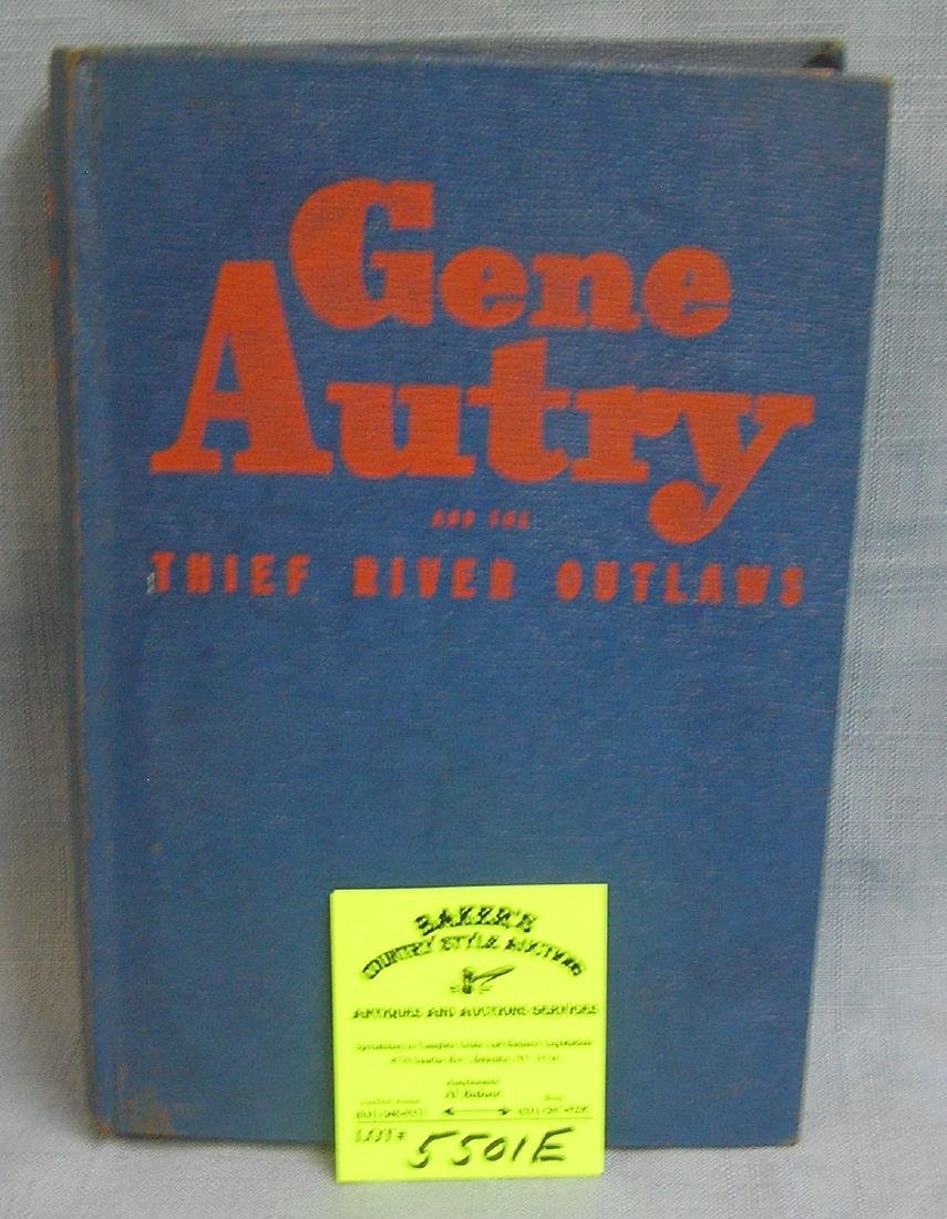 Vintage Gene Audry and the thief river outlaws